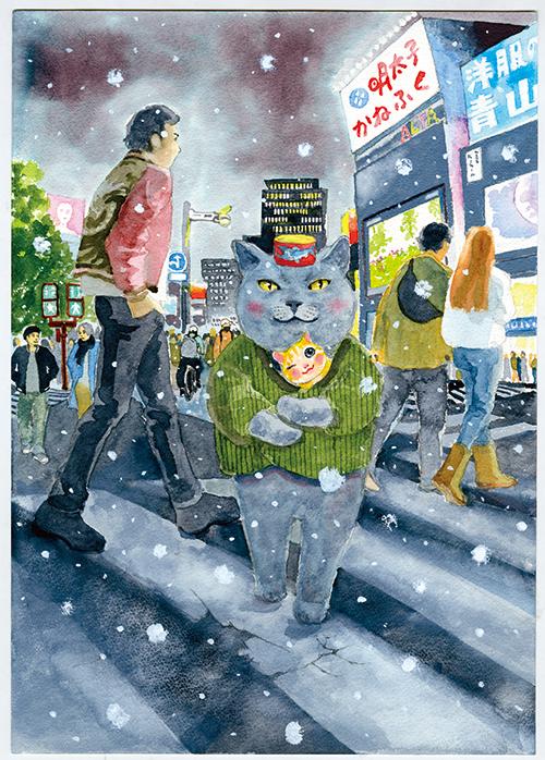 夜廻り猫遠藤平蔵写真